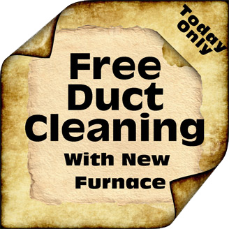Laguna Niguel heating and air conditioning. Free duct cleaning with a new furnace installation
